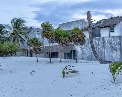 Ruins of Pablo Escobars beach villa Yucatan Coast Mexico   Exploration: Urban, Rural and Industrial   Scoop.it