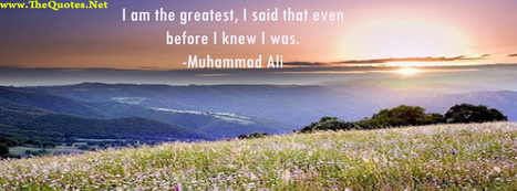 Facebook Cover Image - Muhammad Ali - TheQuotes.Net | Facebook Cover Photos | Scoop.it