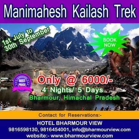 Manimahesh Kailash Yatra - Manimahesh, Bharmour, Himachal Pradesh | manimahesh.net.in | Scoop.it