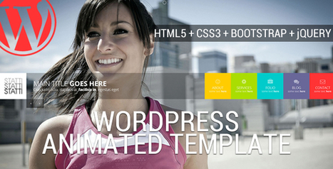 Statti - Animated Wordpress Template Download | Business | Scoop.it