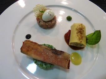 Au déjeuner le Jardin des Sens vous régale avec son menu de saison.|Chefs Pourcel Blog | Epicure : Vins, gastronomie et belles choses | Scoop.it