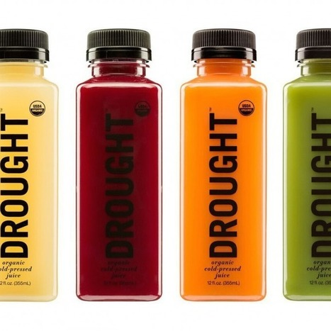 DROUGHT Launches Wholesale Line of Organic, Cold-Pressed Juices - BevNET.com | Detroit Rises | Scoop.it