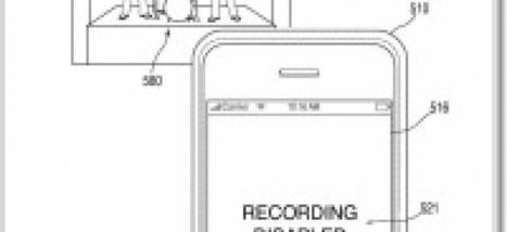 Apple dépose un brevet pour empêcher de filmer les concerts | Clic France | Scoop.it