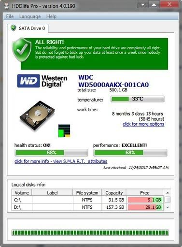 برنامج HDDlife 4.0.190 لحماية القرص الصلب | منتديات تعليم وابداع | Scoop.it