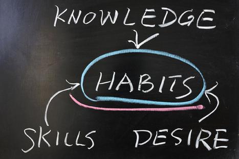 5 pasos para cambiar un hábito   Management & Leadership   Scoop.it