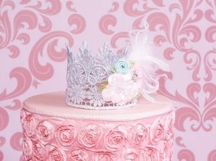 Newborn Royal Princess Silver Mini Baby Crown | Babies Shower Gifts | Scoop.it