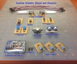 Custom Arduino Shield and Sensors - Instructables | News in education study | Scoop.it