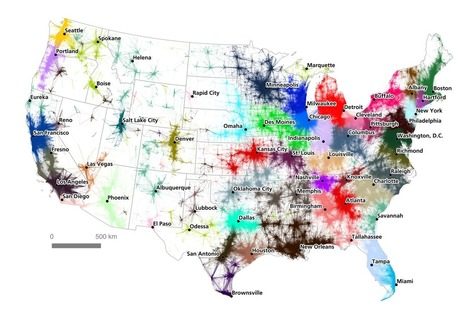 Here Are the Real Boundaries of American Metropolises, Decided by an Algorithm | AP Human Geography | Scoop.it