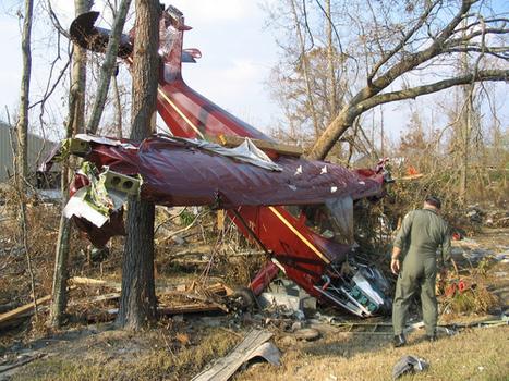 [Photo] Avion endommagé suite au tsunami.. on Twitpic | Japon : séisme, tsunami & conséquences | Scoop.it