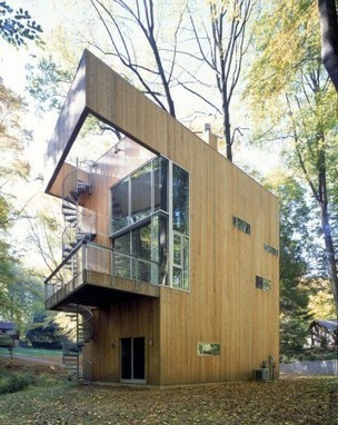 [Wilmington, Delaware, USA] Tree house / Sander Architects   The Architecture of the City   Scoop.it