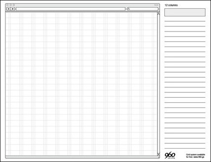 20 Free Printable Sketching and Wireframing Templates | Basics and principles for a good  Web Design | Scoop.it