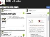 Fiches d'aide pour BCDI et E-sidoc - Canopé académie de Dijon   Apprivoisons Esidoc   Scoop.it