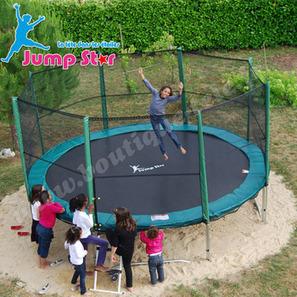 Choisir son trampoline avec filet en France | Maison & Jardin | Scoop.it