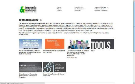 Lost in transmedia? Check TMC's tool kit! | i-docs | Teaching & learning in the creative industries | Scoop.it