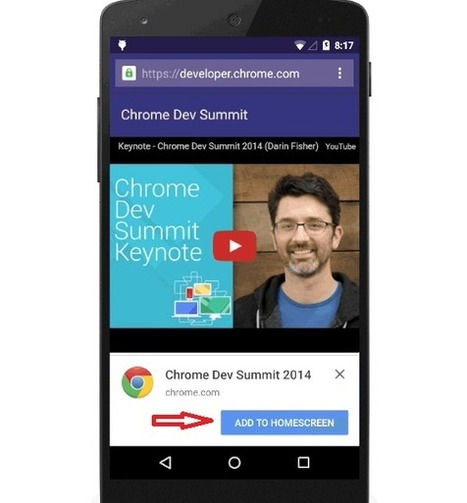 Avec les Notifications Chrome, Google transforme votre site en application | Communication - Marketing - Web | Scoop.it