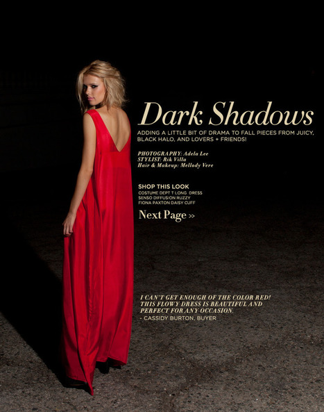 Revolve Clothing - Dark Shadows | alice in fashionland | Scoop.it