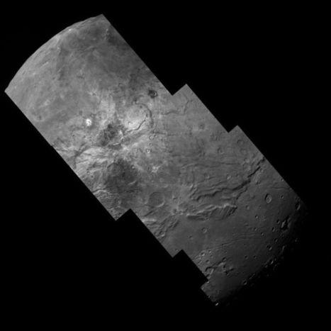VIDEO: Swoop Across the Complex Geology of Pluto's Largest Moon   Geology   Scoop.it