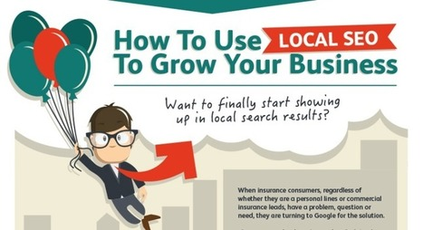 How to Use Local SEO to Grow Your Business [Infographic] - Juntae DeLane | Content Creation, Curation, Management | Scoop.it