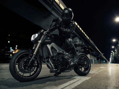 YAMAHA MT-09, THE DARK SIDE OF JAPAN | Vintage Motorbikes | Scoop.it