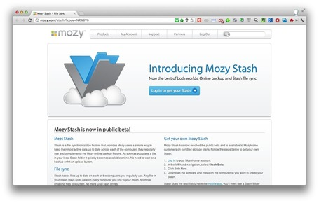 Mozy lance Stash un concurrent de Dropbox | TIC et Tech news | Scoop.it