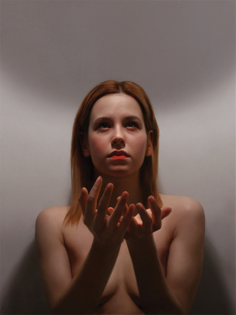 Photorealistic oil paintings of women by artist Robin Eley | Culture and Fun - Art | Scoop.it