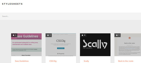 Free Community-Generated CSS Resources | Bazaar | Scoop.it