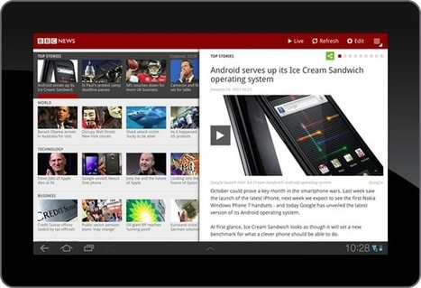 [UK-Only] The BBC News App Lands on Android Tablets | Mobile Journalism Apps | Scoop.it