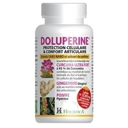 Doluperine 60 gelules - Curcumine - Holistica | Pharma5avenue.com, nouveau site de parapharmacie basé sur la phytothérapie ! | Scoop.it