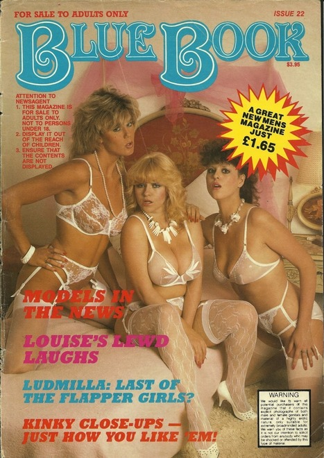Vintage Blue Book Lingerie Cover | Sex History | Scoop.it