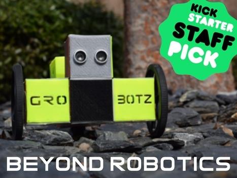 GroBotz : Modular open source robots, they grow up with you on Kickstarter | Heron | Scoop.it