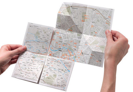 An Ingenious Paper Map Zooms In Just Like Google | Design, Literacy and Multimodality | Scoop.it
