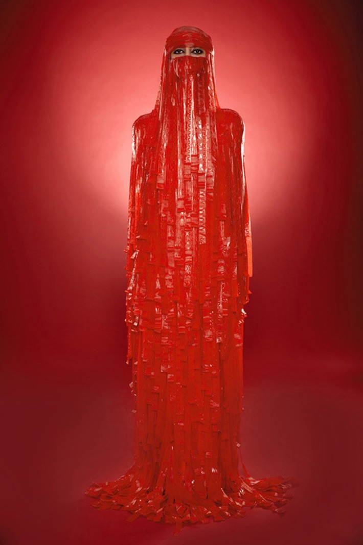 Artist Creates Self-Portraits Wearing Burqas Made of Candy | For Art's Sake-1 | Scoop.it