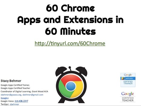 60 Chrome Apps & Extensions - GoogleDrive | The Charles Schultz Philosophy | Scoop.it