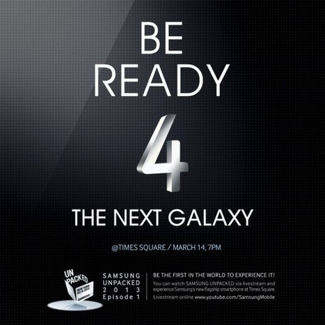 Amateur Techie: Galaxy S4 3/2/13 Rumor Round-up | Smartphone madness. | Scoop.it