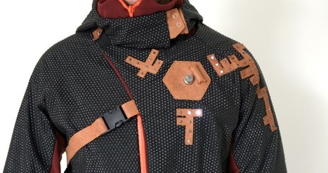 High-Tech Outerwear Designed to Fight Air Pollution | Web of Things | Scoop.it