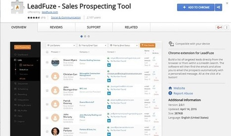 Automate Your B2B Sales Lead Generation with LeadFuze | My Blogs | Scoop.it