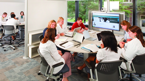 How Steelcase Redesigned the 21st Century College Classroom | Digital Literacy in the 21st Century | Scoop.it