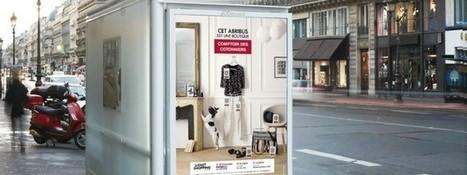 M-commerce: Comptoir des Cotonniers transforme la rue en magasin | QR code et sites Mobiles | Scoop.it