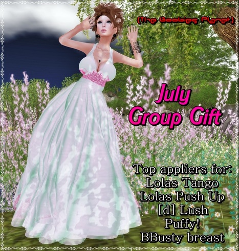 White Dress July 2013 Group Gift by The Boobies Planet | Teleport Hub - Second Life Freebies | funfunfun | Scoop.it