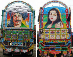 Masterpieces to go – the truck art of Pakistan - Pakistan Daily Times | Artifacts | Scoop.it