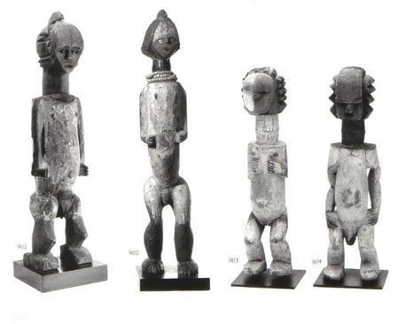 Ambete / Mbete figures - RAND AFRICAN ART | ancestor cult | Scoop.it