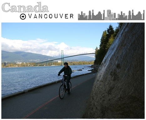 Vancouver à vélo: itinéraire de Chinatown à Stanley Park photos nature   Voyage   Scoop.it