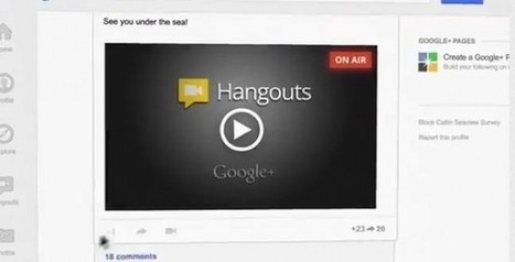 Google+ lance son Hangouts On Air | eLearning en Belgique | Scoop.it