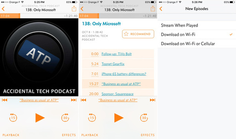 iOS Podcast App Overcast Adds Streaming, Drops Price To Free | Edtech PK-12 | Scoop.it