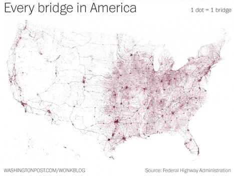 PopulationData.net : Etats-Unis - ponts | Open datas | Scoop.it