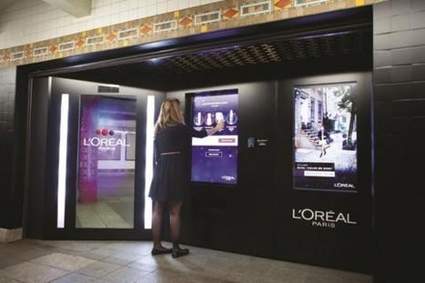 Etats-Unis : Le nouveau concept digital déployé par L'Oréal dans le métro de New-York - Ooh-tv | ressources humaines;business;reseaux sociaux | Scoop.it