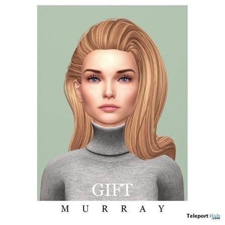 Catherine Hair Gift by MURRAY | Teleport Hub - Second Life Freebies | Second Life Freebies | Scoop.it