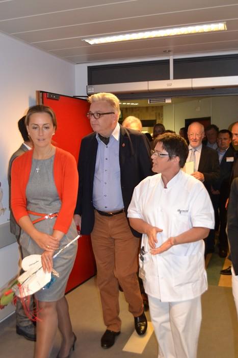 Visite princière à la pédiatrie du CHR | Votre santé, notre métier | Scoop.it
