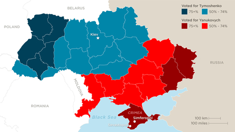 A divided Ukraine   Geography News Network   Scoop.it