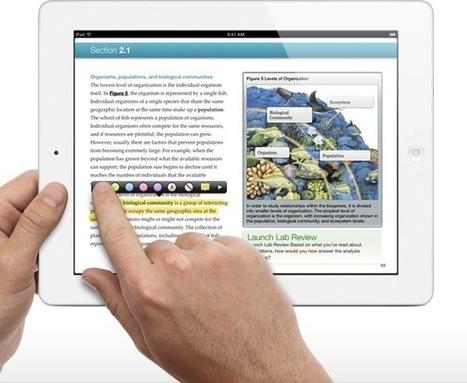 Apple : iBooks 2 et iBooks Author, simplicité et créativité pour l'édition scolaire   eBouquin   Éducation et enseignement   Scoop.it